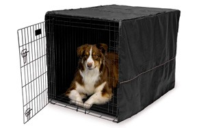 Quiet Time Wire Dog Crate Covers by MidWest Homes for Pets