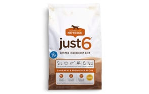 Rachael Ray Nutrish Just 6 Limited Ingredient Natural Dry Dog Food