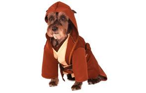 Rubie's Classic Jedi Robe Star Wars Dog Costume