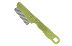Safari Flea Comb with a Double Row of Teeth