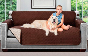 The Original Sofa Shield Reversible Couch Slipcover Furniture Protector by Sofa Shield