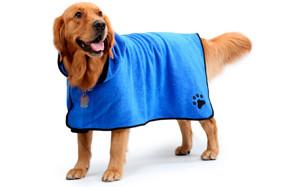 BONAWEN Dog Pet Bath Towel