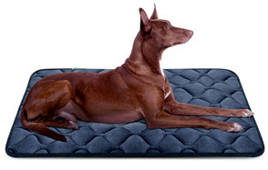 Dog Bed Mat Washable Soft Fleece Crate Pad by Hero Dog