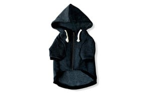Ellie Dog Zip Up Hoodie with Hook & Loop Pockets