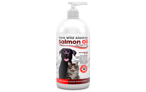 Finest for Pets Pure Wild Alaskan Salmon Oil