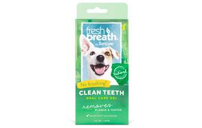 Fresh Breath Plaque Remover Pet Clean Teeth Gel by Tropiclean