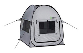 GigaTent Dog Tent with Fitted Foam Pad