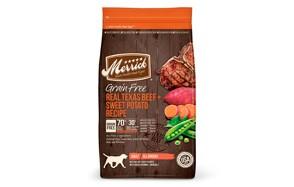 Grain Free Real Texas Beef + Sweet Potato Recipe Dry Dog Food