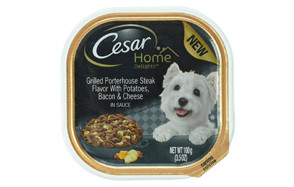 Home Delights Grilled Porterhouse Steak Flavor with Potatoes, Bacon & Cheese Wet Dog Food