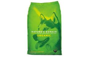 Nature's Domain Organic Chicken & Pea Formula
