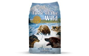 Pacific Stream Canine Formula by Taste of the Wild