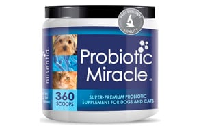 Probiotic Miracle Dog Probiotics by NUSENTIA