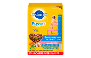 Puppy Growth and Protection Chicken & Vegetable Flavor Dry Dog Food