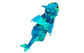 UHeng Funny Dog Fly Dragon Cosplay Costume