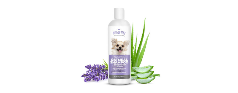 2-in-1 Oatmeal Dog Shampoo and Conditioner