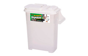 affordable dog food container