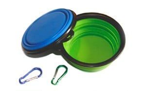 COMSUN 2-Pack Collapsible Dog Bowl