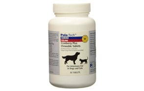 Cranberry Plus Chewable Tablets for Dogs and Cats by Pala-Tech