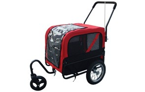 Elite Jr. Dog Pet Bike Trailer by Aosom