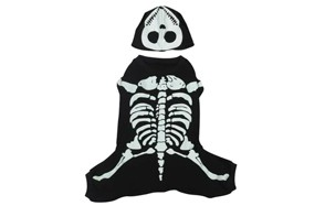 Glow Bones Dog Skeleton Pet Costume by Casual Canine