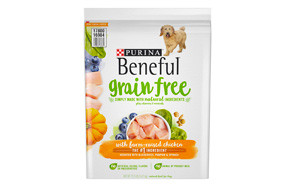 Grain Free with Farm-Raised Chicken Adult Dry Dog Food