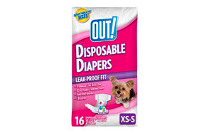 OUT! Disposable Female Dog Diapers
