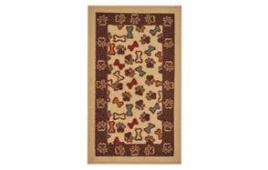 Pet Collection Bones and Paws Mat Doormat