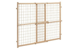 Position and Lock Wood Gate by Evenflo