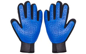 Thanger Pet Grooming Gloves