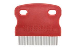 Toothed Flea Comb Dog Grooming Steel Small Brush by MECO