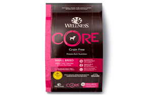 Wellness CORE Natural Grain Free Dry Dog Food, Small Breed