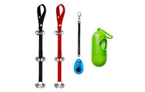 Zacro Set of 2 Dog Doorbells for Dog Training