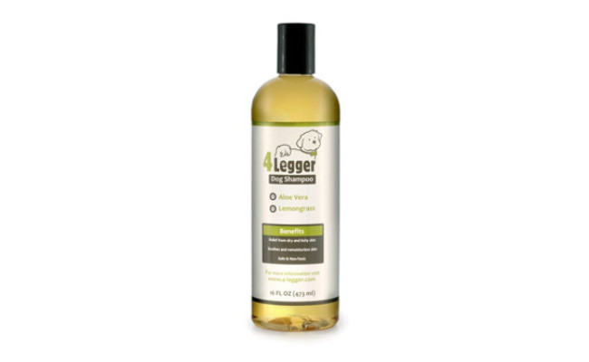 4 Legger Certified Organic Dog Shampoo