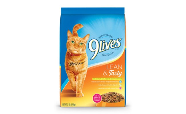 9lives cat food for weight loss