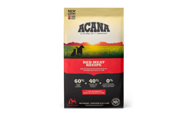 ACANA Red Meat Recipe Grain-Free Dry Dog Food