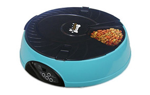 AF-108 6-Meal Automatic Pet Feeder by Qpets