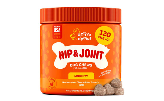 Active Chews Hip and Joint Dog Chews