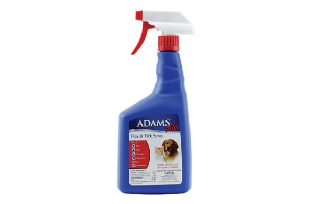 Adams Plus Tick Spray for Dogs