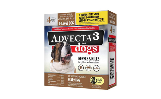 Advecta 3 Mosquito Protection for Dogs