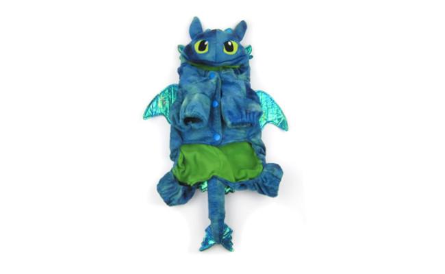 Alfie Pet Night Fury Dragon Costume