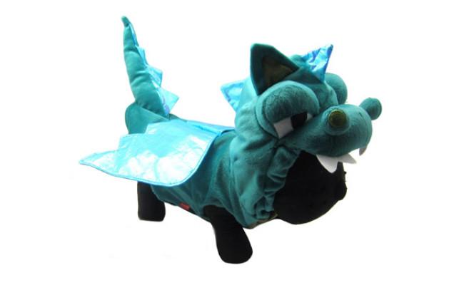 Alfie Pet Smokie The Dragon Dinosaur Costume