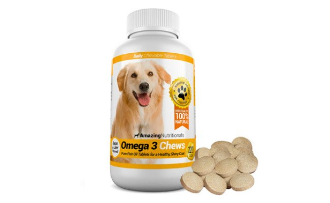 Amazing Nutritionals Chewable Fish Oil for Dogs