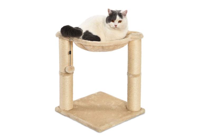 AmazonBasics Cat Scratching Post and Hammock4