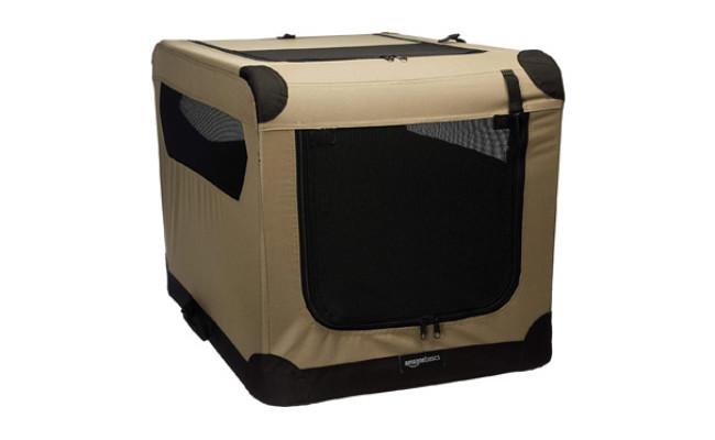AmazonBasics Folding Soft Dog Crate