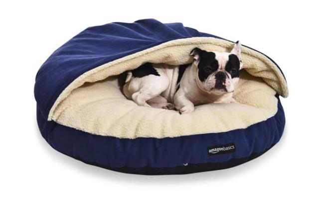 AmazonBasics Medium Dog Cave Bed