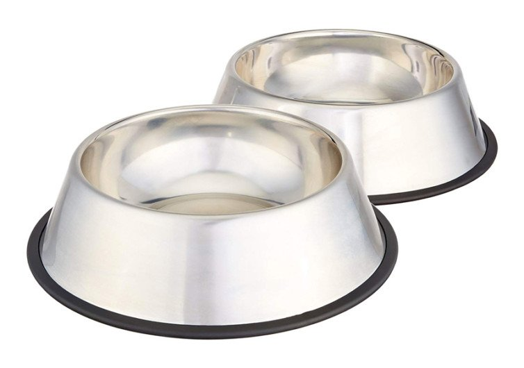AmazonBasics Stainless Steel Dog Bowl2