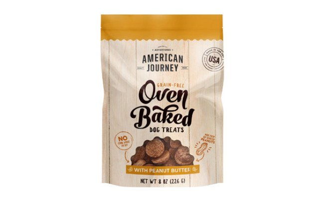 American Journey Oven Baked Crunchy Biscuit Dog Treats