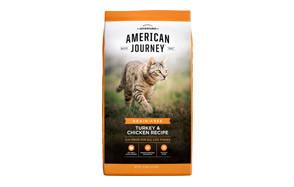 American Journey Turkey & Chicken Recipe Cat Food
