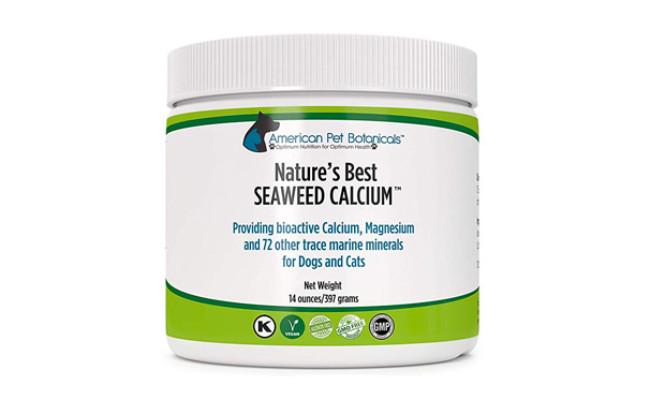 American Pet Botanicals Nature's Best Seaweed Calcium for Pets