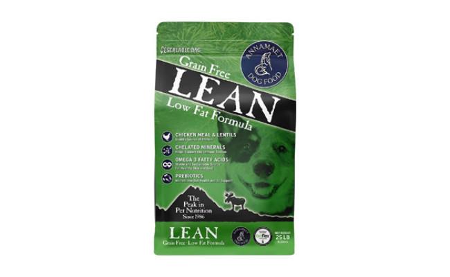 Annamaet Lean Reduced Fat Formula Dry Dog Food